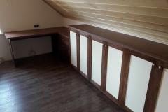 Письменный стол и мебельная стенка