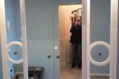 Шкаф с зеркальными фасадами