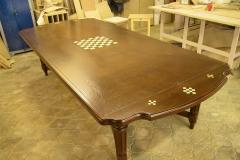 Резной стол из массива