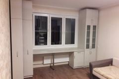 Мебель для детской комнаты с выдвижными книжными шкафами
