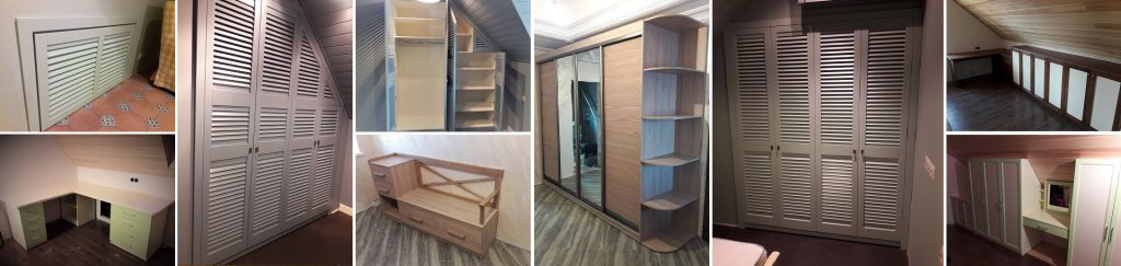 Мебель на заказ по индивидуальным проектам