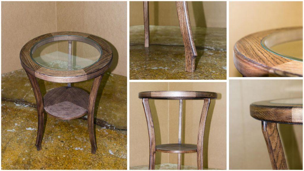 Столик из массива ручной работы