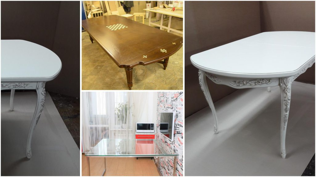 Производство обеденных столов по индивидуальным проектам